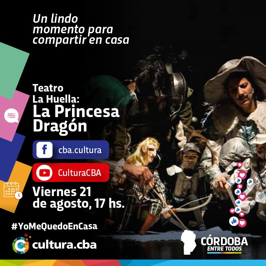Teatro La Huella: La Princesa Dragón