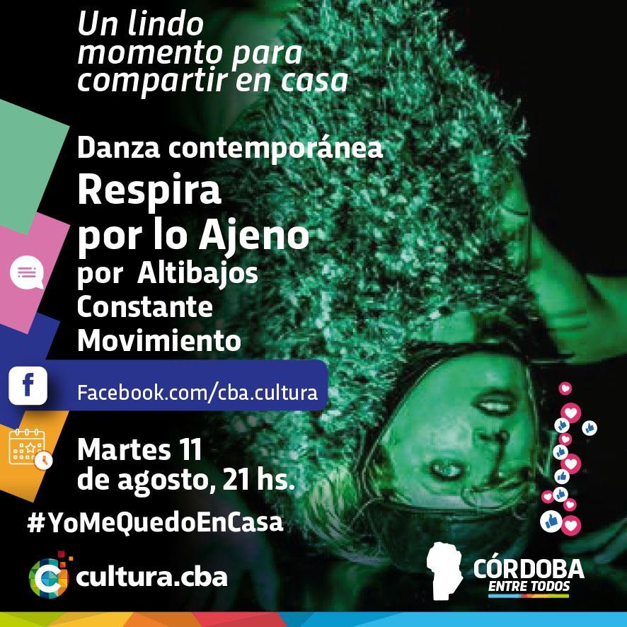 Respira por lo Ajeno. Danza contemporánea