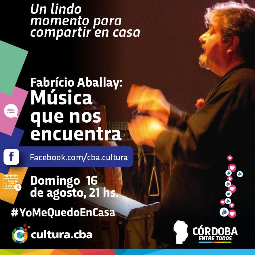 Fabrício Aballay: Música que nos encuentra