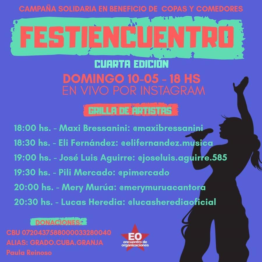 FESTIENCUENTRO 4ta edición (Instagram live)