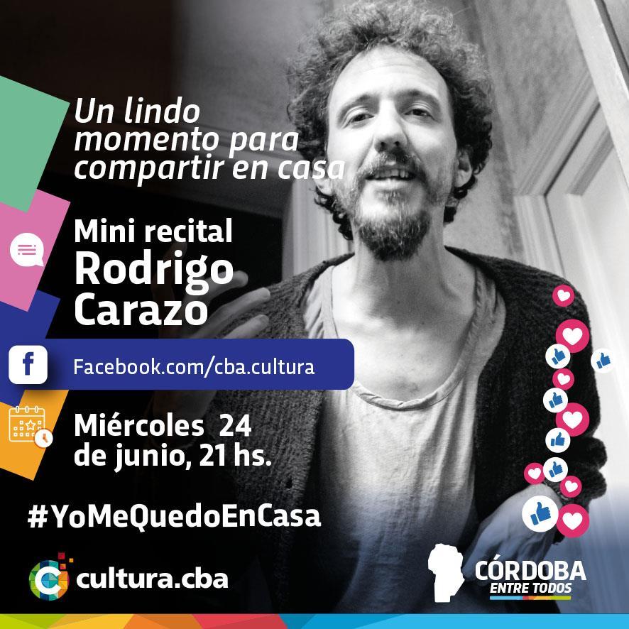 Un lindo momento para compartir en casa - Mini recital de Rodrigo Carazo