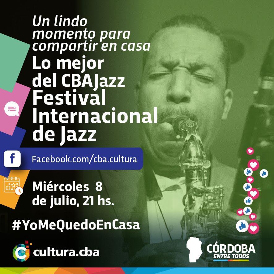 Un lindo momento para compartir en casa - Festival Internacional de Jazz