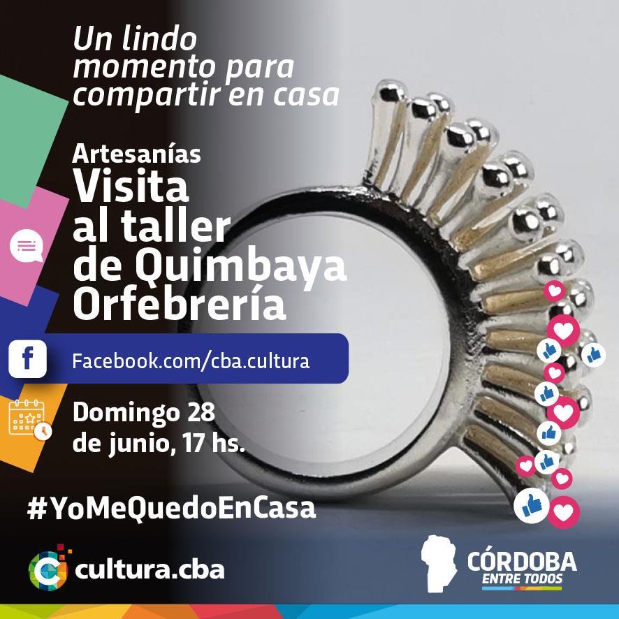 Un lindo momento para compartir en casa -  Visita al taller de Quimbaya Orfebrería