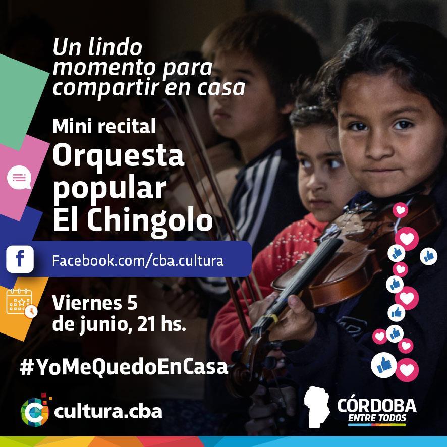 Un lindo momento para compartir en casa - Mini recital de Orquesta popular El Chingolo