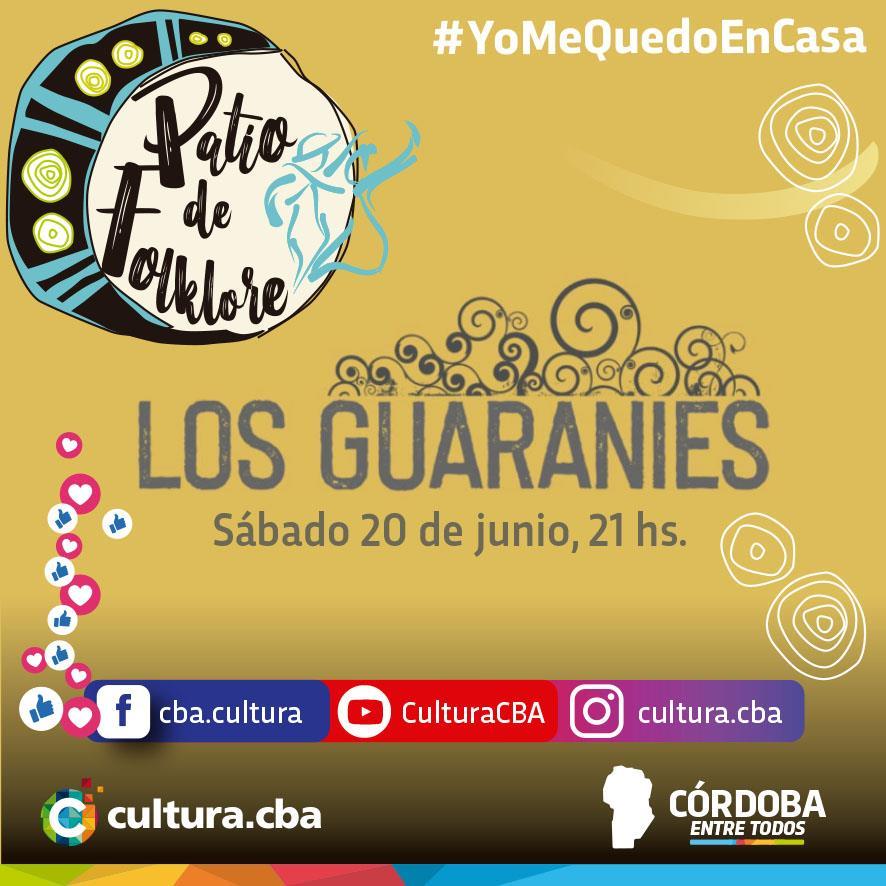 Un lindo momento para compartir en casa - Patio de Folklore: Los Guaranies
