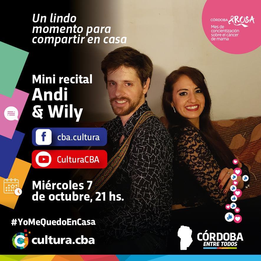 Mini recital de Andi & Wily