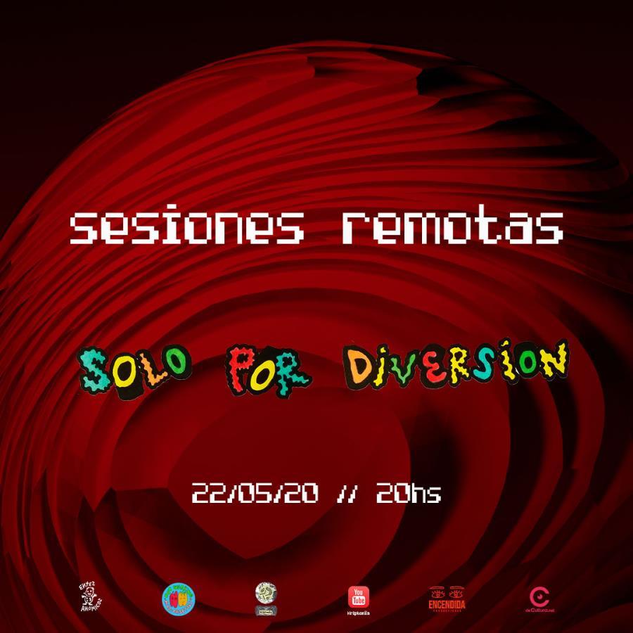 Kriptonîa Sesiones Remotas - Solo por Diversión