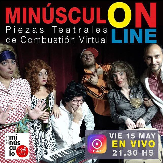 REGRESA  Teatro Minúsculo  ¿Dónde?? ¡A TU CASA! (Instagram Live)