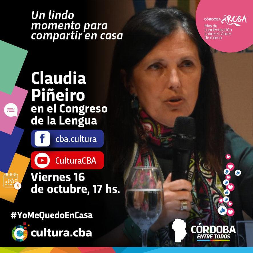 Claudia Piñeiro en el Congreso de la Lengua