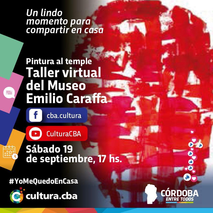 Pintura al temple. Taller virtual del Museo Provincial de Bellas Artes Emilio Caraffa