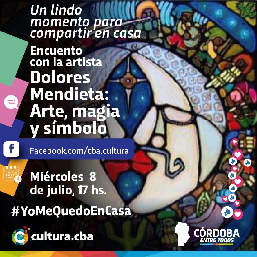 Un lindo momento para compartir en casa - Dolores Mendieta: Arte, magia y símbolo