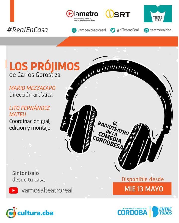 """""""Los Prójimos"""" de Carlos Gorostiza Radio TEATRO en vivo"""