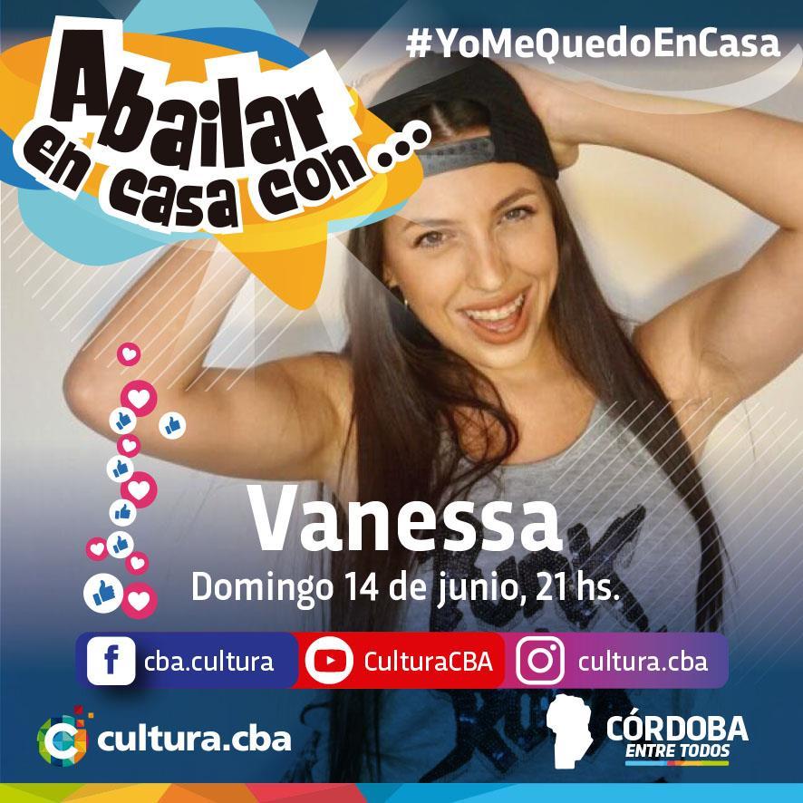 Un lindo momento para compartir en casa - A bailar en casa con… Vanessa