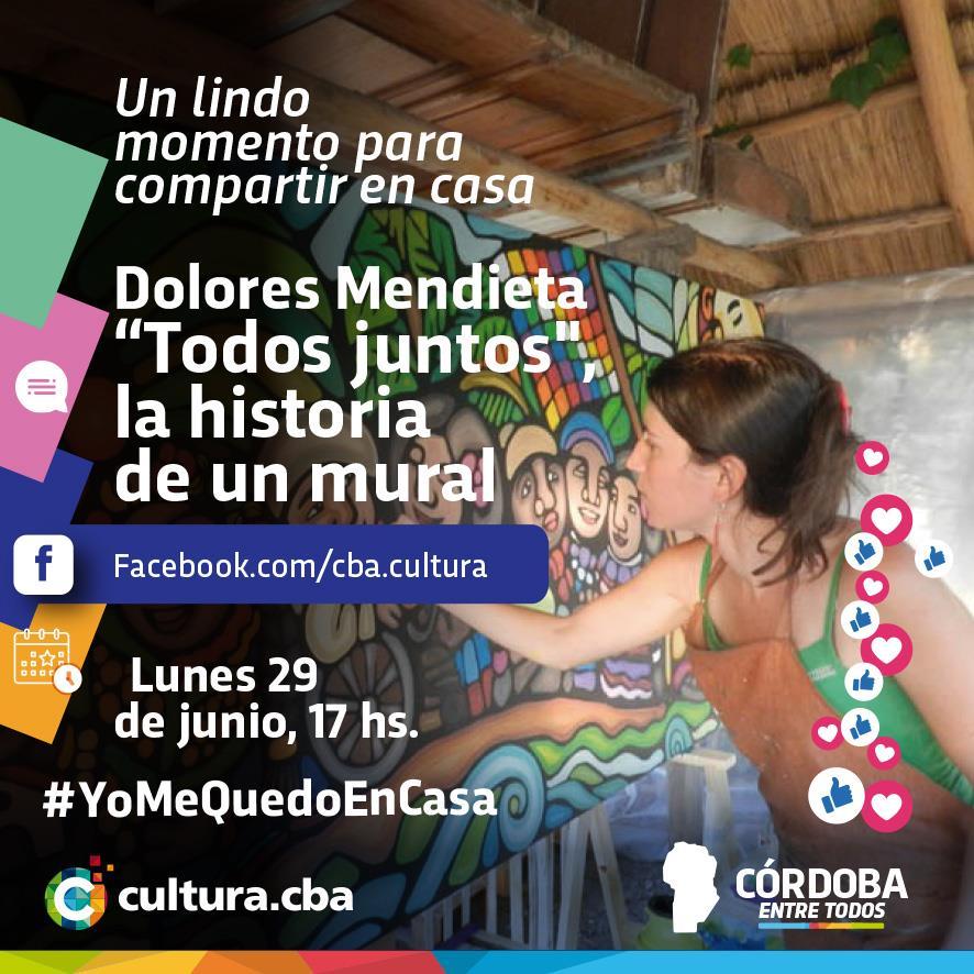 """Un lindo momento para compartir en casa - Dolores Mendieta: """"Todos juntos"""" (San Javier)"""