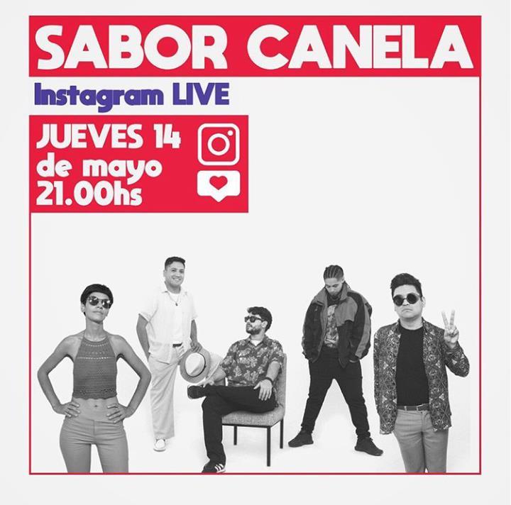 Sabor Canela en vivo!