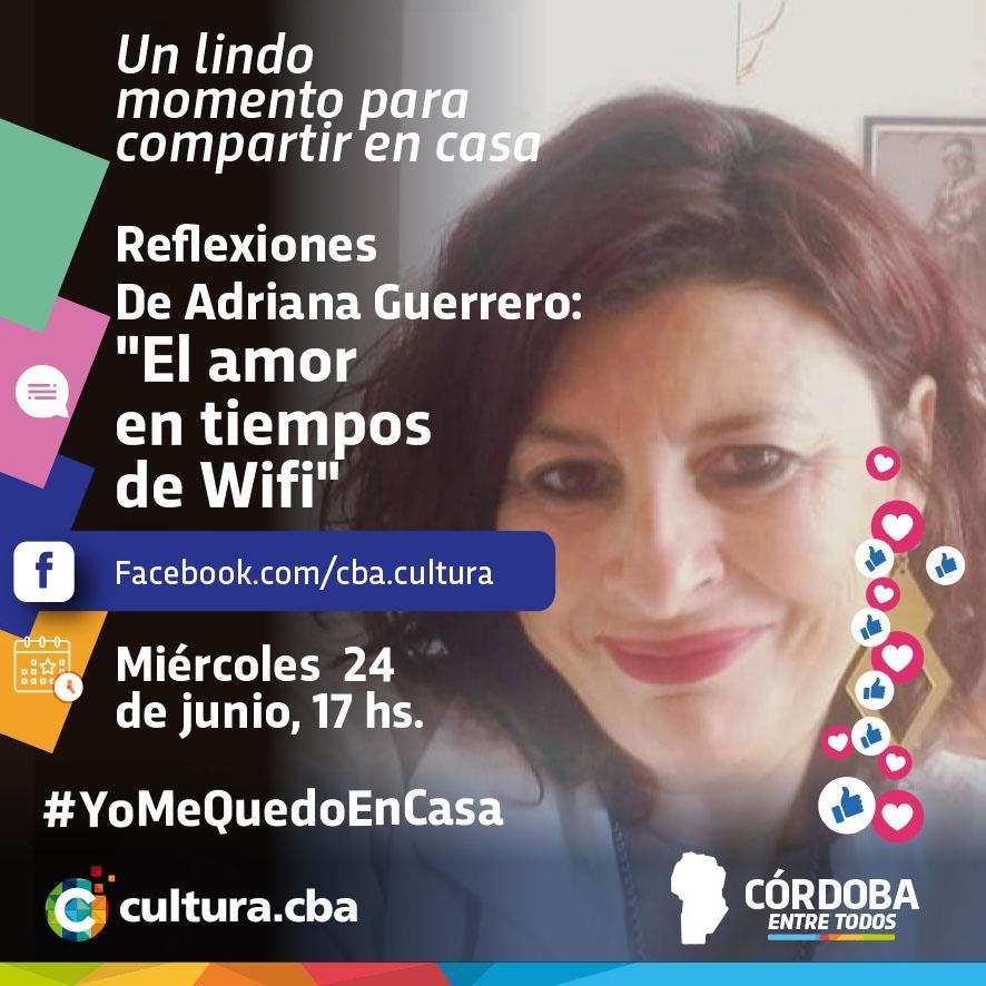 """Un lindo momento para compartir en casa - Adriana Guerrero presenta su libro """"El amor en tiempos de Wifi…"""""""