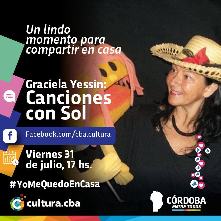 Graciela Yessin: Canciones al sol