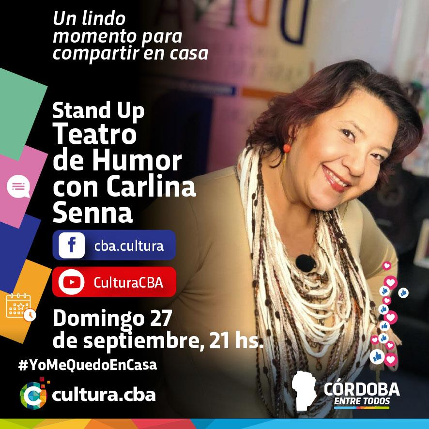 Stand Up. Teatro de Humor con Carlina Senna