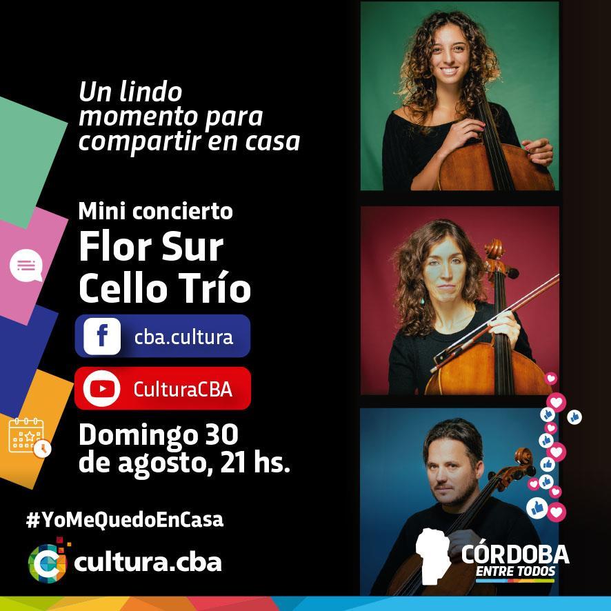 Mini concierto de Flor Sur Cello Trío