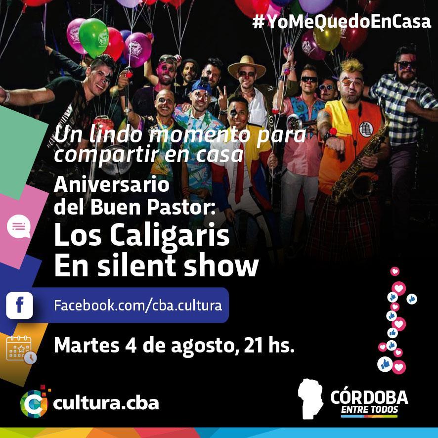 En el aniversario del Paseo del Buen Pastor: Los Caligaris, revivimos su silent show