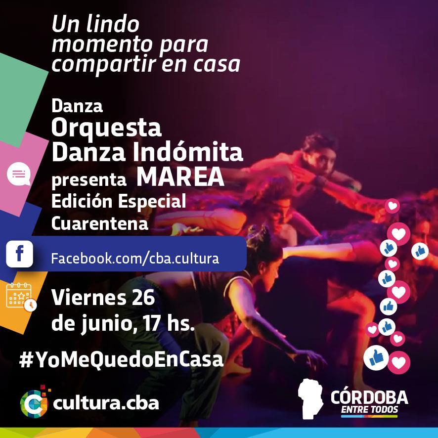 Un lindo momento para compartir en casa - MAREA – Edición Especial Cuarentena (Danza)
