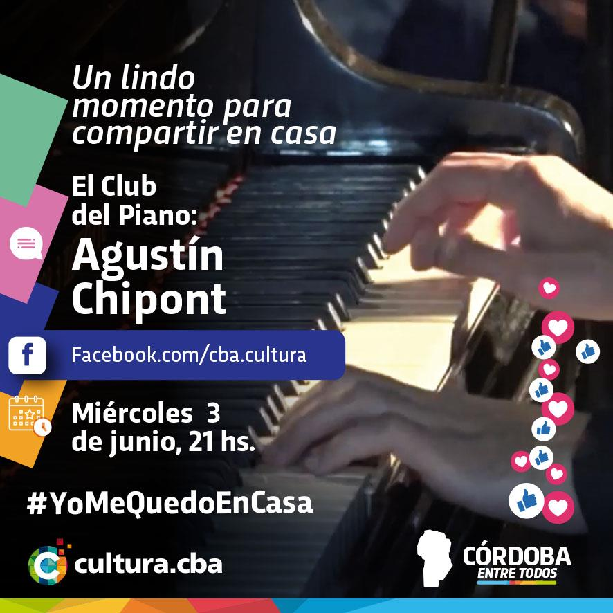 Un lindo momento para compartir en casa - El Club del Piano: Agustín Chipont