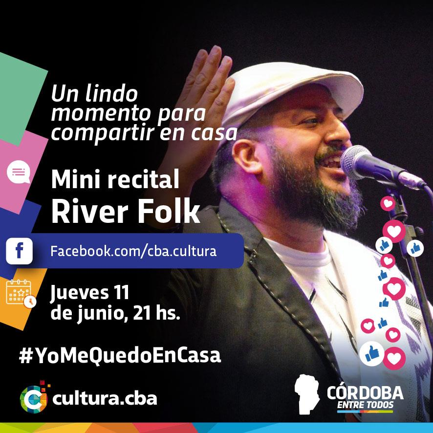 Un lindo momento para compartir en casa - Mini recital de Rivera Folk