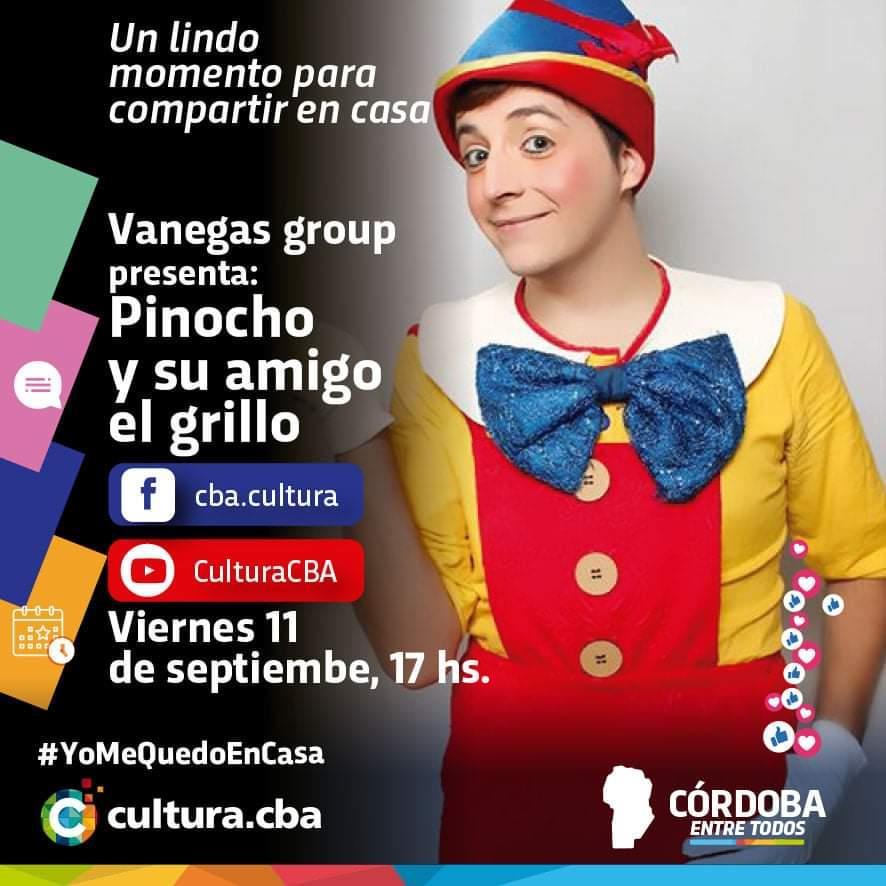 Vanegas group presenta: Pinocho y su amigo grillo