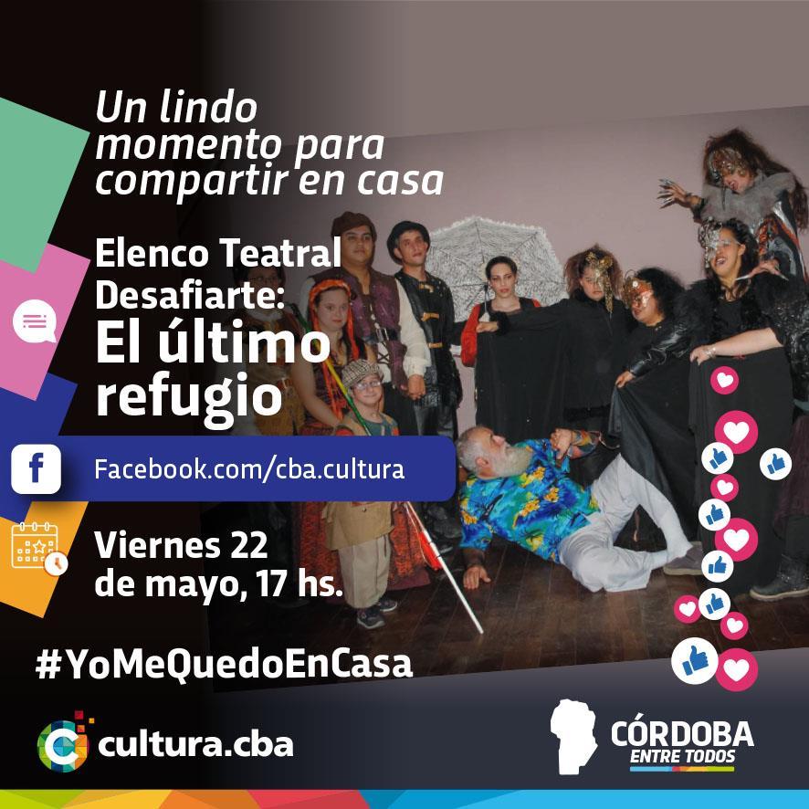 Un lindo momento para compartir en casa - Elenco Teatral Desafiarte: El último refugio