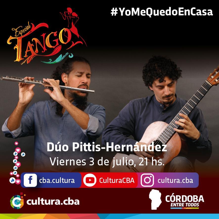 Un lindo momento para compartir en casa - Especial Tango: Dúo Pittis-Hernandez