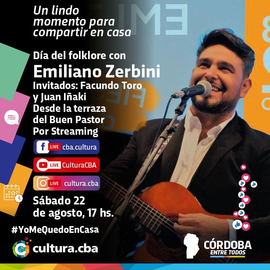 Día del folklore con Emiliano Zerbini