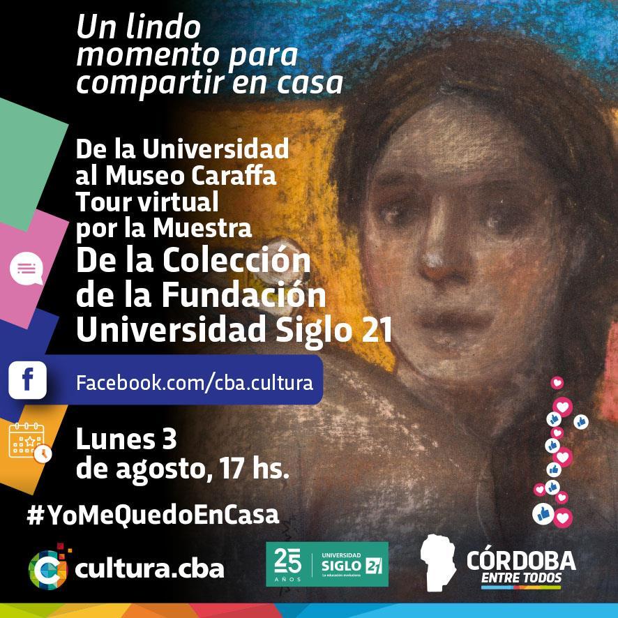 Tour virtual por la muestra de la UES21 en el Museo Emilio Caraffa Oficial
