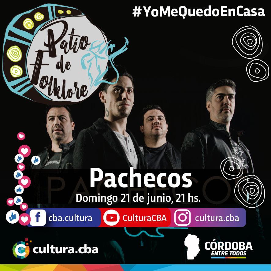 Un lindo momento para compartir en casa - Patio de Folklore: Pachecos (Deán Funes)
