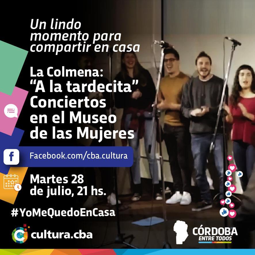 """La Colmena: """"A la tardecita"""" Conciertos en el Museo de las Mujeres"""