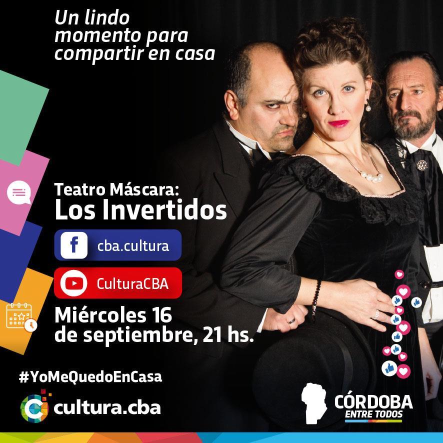 """El grupo de teatro Máscara presenta """"Los Invertidos"""""""