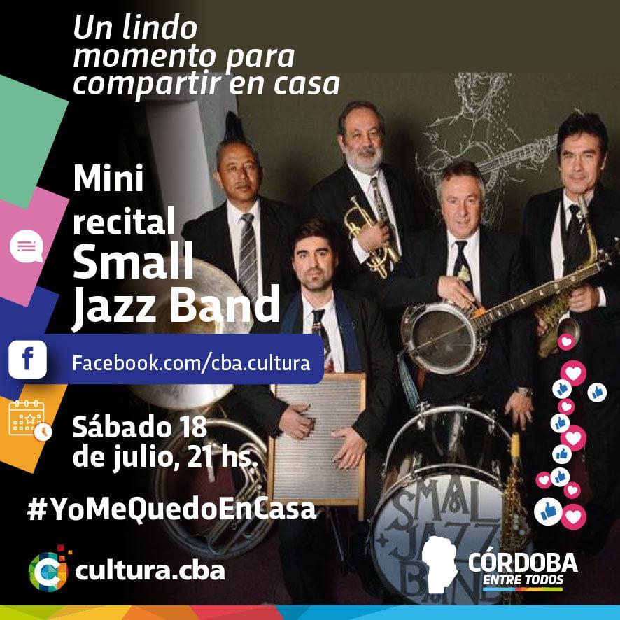 Un lindo momento para compartir en casa - Mini recital de Small Jazz Band