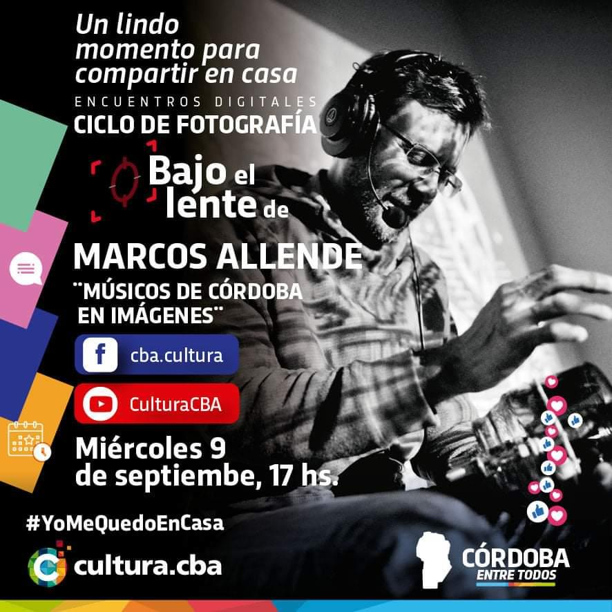 Ciclo se fotografía: Bajo el lente de Marcos Allende