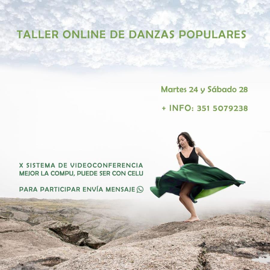 Danzas populares Online en Cuarentena