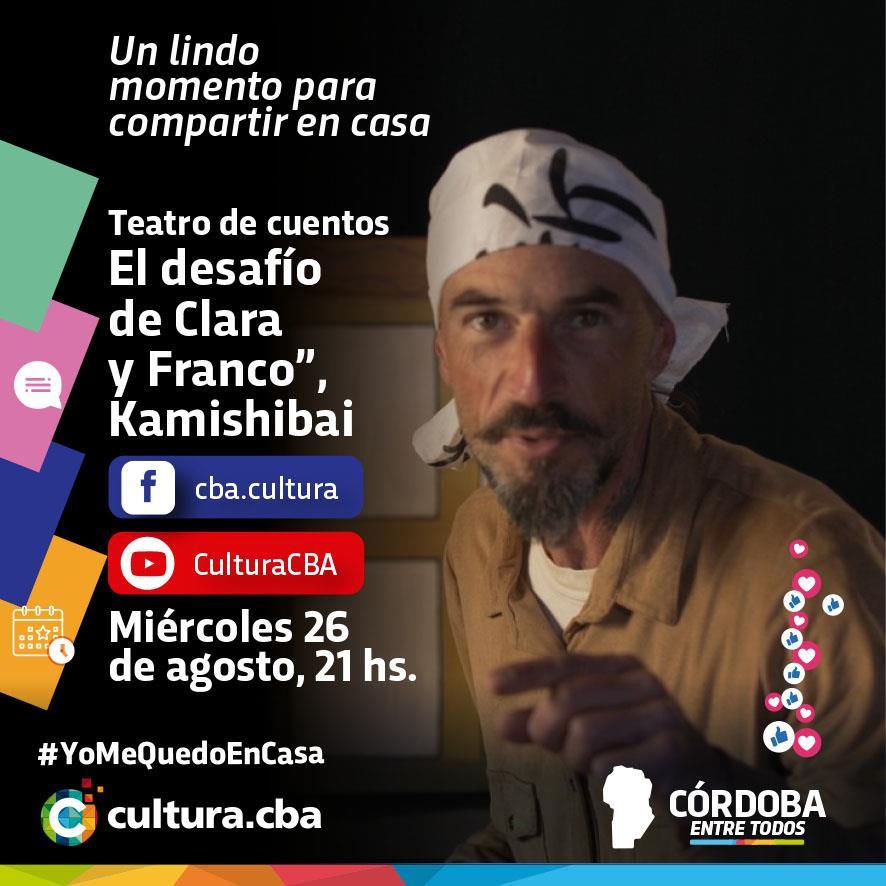 """""""El desafío de Clara y Franco"""", Kamishibai. Teatro de cuentos"""