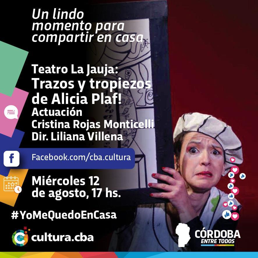Teatro La Jauja: Trazos y tropiezos de Alicia Plaf!