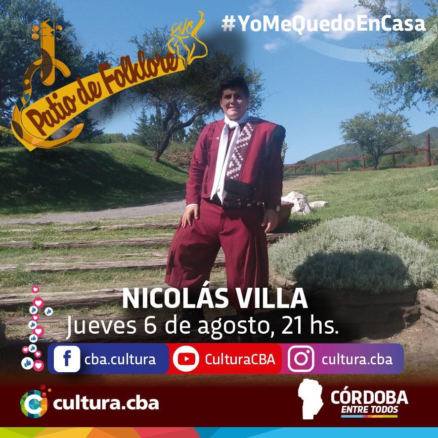 Patio de Folklore: Nicolás Villa