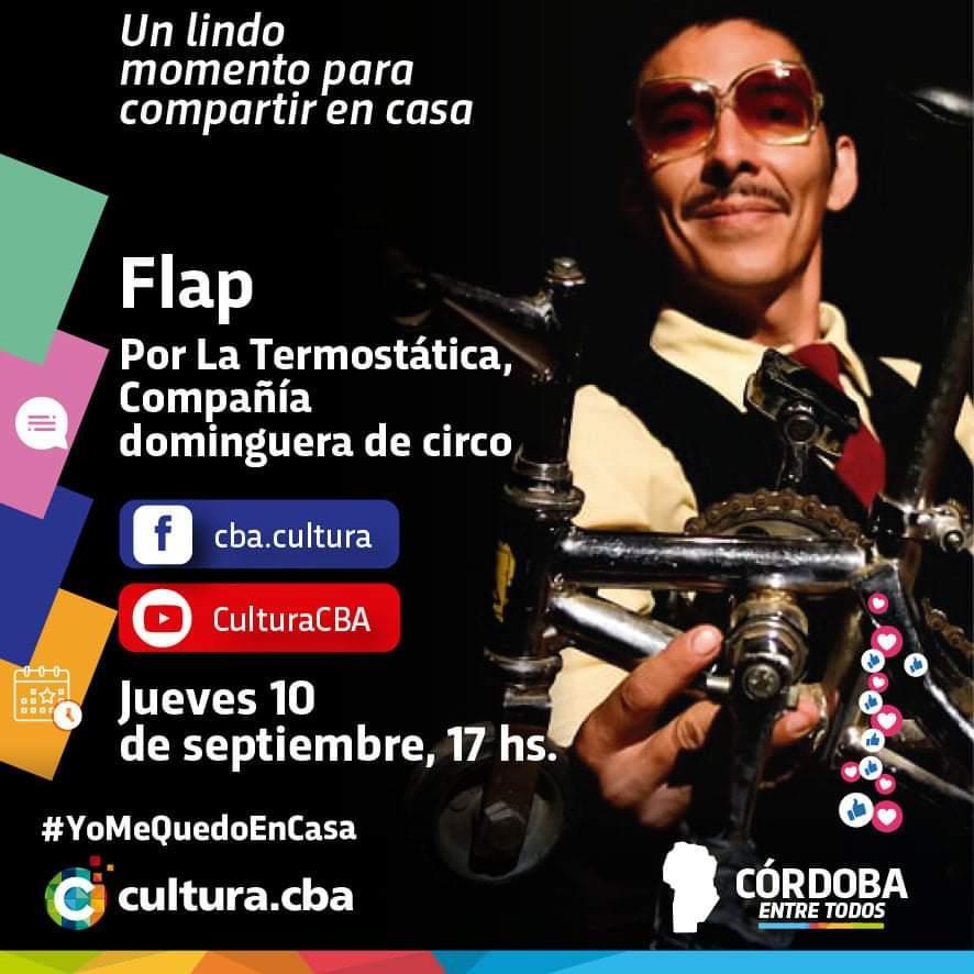 Flap, por La Termostática: Compañía dominguera de circo