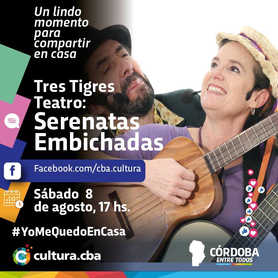 """Tres Tigres Teatro: Serenatas Embichadas – El grupo nos presenta el disco """"Serenatas Embichadas"""