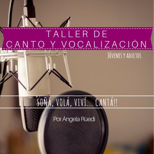 Taller de Canto y Vocalización - Jóvenes y Adultos