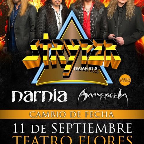 Stryper y Narnia en Argentina