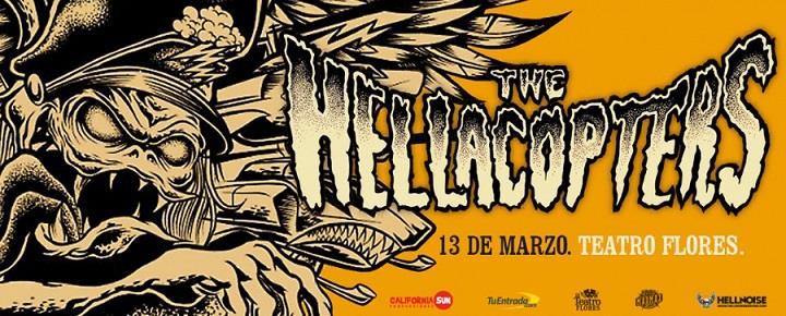The Hellacopters por primera vez en Argentina