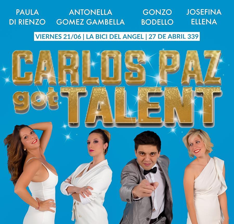 Carlos Paz Got Talent Café Concert llega a Córdoba
