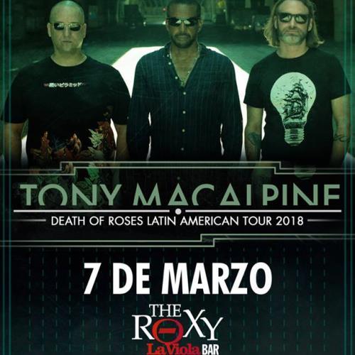 Tony MacAlpine en vivo por primera vez en Argentina