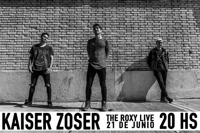 """KAISER ZOSER presenta oficialmente """"Yo soy él""""- su disco debut- en The Roxy"""