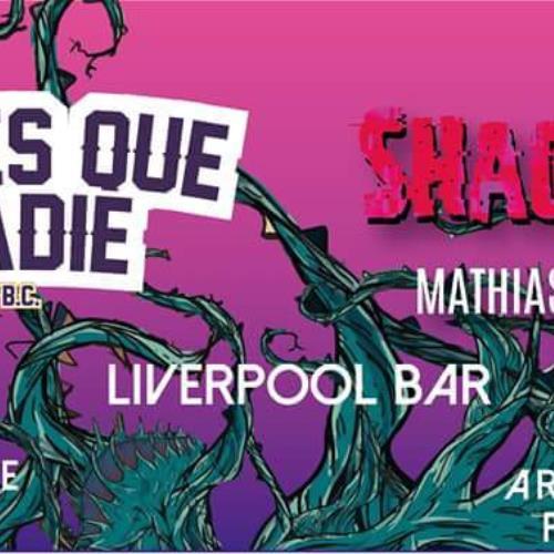 Shaggis junto a ANTES QUE NADIE B.C. en Palermo